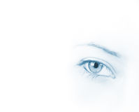 Girl's eye Royalty Free Stock Photos