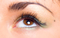 Girl's eye Royalty Free Stock Photography