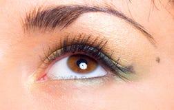 Girl's eye Royalty Free Stock Photography