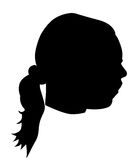 Girl's face Royalty Free Stock Photography