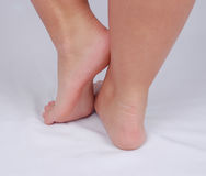 Girl's Feet. A young woman and her lovely feet Royalty Free Stock Photo