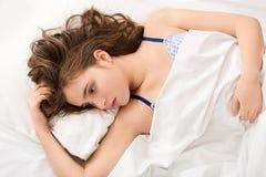 Girl's intimacy secret Stock Photos