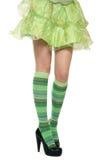 Girl's legs Stock Image