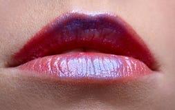 Girl's lips Stock Photo
