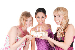 Girl's party Royalty Free Stock Image