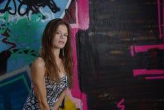 Girl's portrait Stock Images