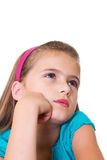 Girl's portrait. Royalty Free Stock Photos