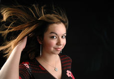 Girl's portrait Royalty Free Stock Photos