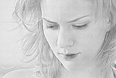 Girl's portrait Stock Image