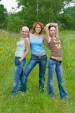 Girl's power Stock Photos
