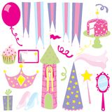 Girl S Princess Party Royalty Free Stock Photography