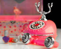 Girl's princess phone Stock Images