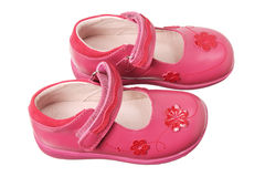 Girl's Shoes Royalty Free Stock Photo