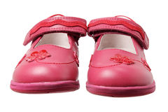 Girl's Shoes Stock Photography