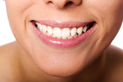 Girl's smile Stock Images
