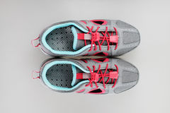 Girl's summer sport shoes Stock Image