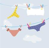 Girl's underwear Stock Photos