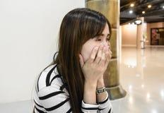 Girl so sad Royalty Free Stock Photos