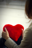 The girl is sad, sadness due the guy, keep heart Royalty Free Stock Photo