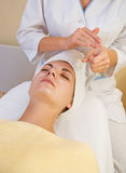 girl salon spa Στοκ Εικόνες