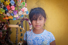 Girl, San Miguel de Allende, Mexico Royalty Free Stock Image