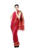Girl in sari Stock Images