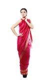 Girl in sari Stock Photography