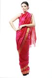 Girl in sari Royalty Free Stock Images