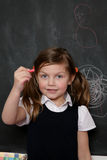 Girl school Royalty Free Stock Image