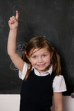 Girl school Stock Photography