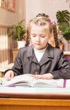 Girl in school Stock Images