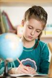Girl at school Stock Image