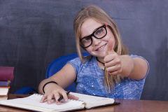 Girl in school Royalty Free Stock Photography