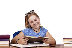 Girl in school Stock Photography