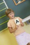 Girl in School Royalty Free Stock Image