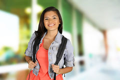 Girl At School Stock Photos