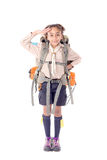 Girl scout royalty free stock photography