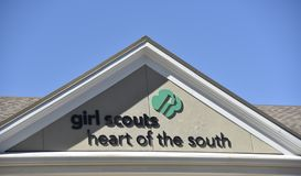 Girl Scouts de América imágenes de archivo libres de regalías