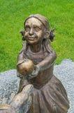 Girl sculpture Royalty Free Stock Photos
