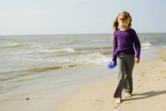 Girl and sea Stock Image
