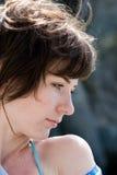 Girl at the sea Stock Image