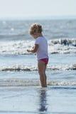 Girl and sea Royalty Free Stock Photos