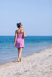 Girl at the sea Stock Image