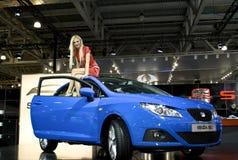 Girl on the Seat Ibiza SC Royalty Free Stock Photo