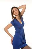 Girl in seductive pose Royalty Free Stock Image