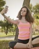Girl selfie Royalty Free Stock Photos
