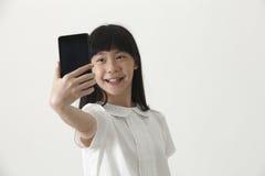 Girl selfie Stock Photo