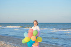 Girl seventeen-year-old with Down syndrome. stock photo