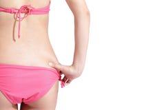 Girl with sexy bikini Royalty Free Stock Photography
