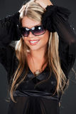 Girl in shades Stock Photography